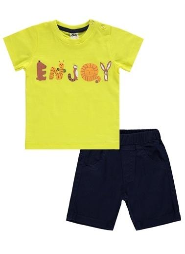 Civil Baby Civil Baby Erkek Bebek şortlu Takım 6-18 Ay Sarı Civil Baby Erkek Bebek şortlu Takım 6-18 Ay Sarı Sarı